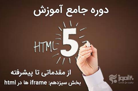 کار با iframe ها در html