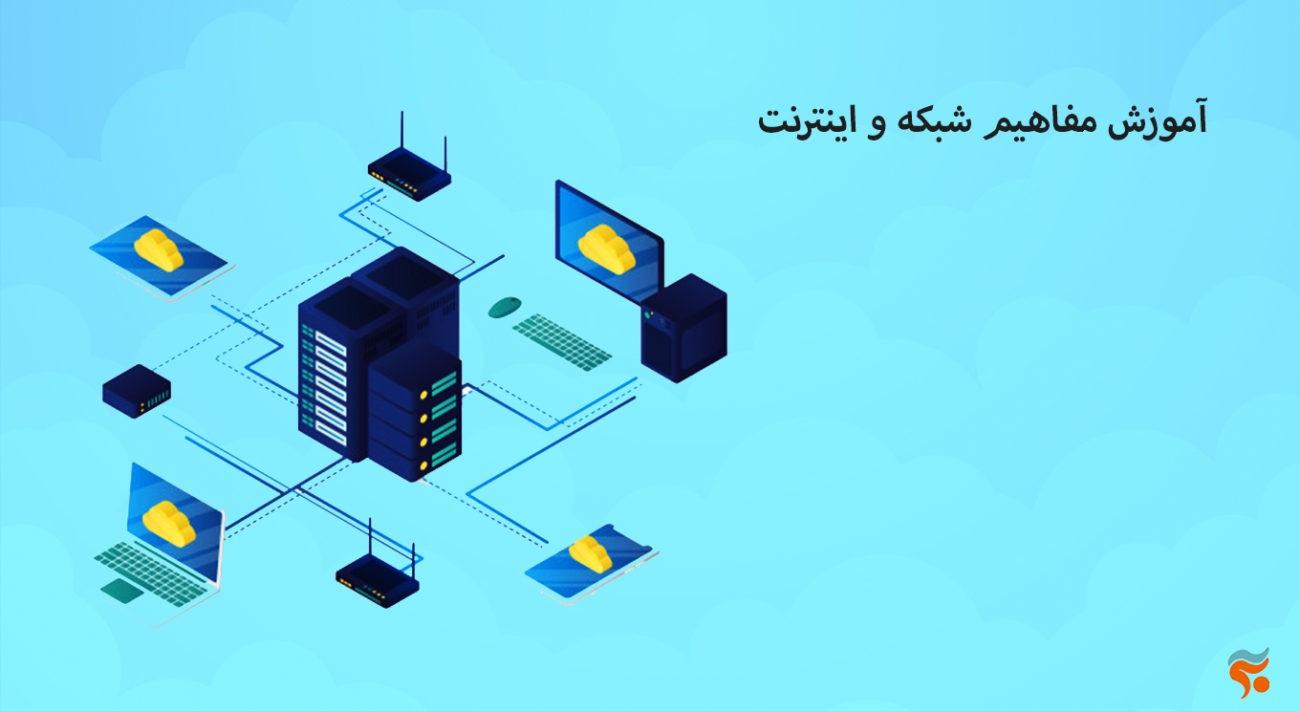 دوره آموزش مبانی کامپیوتر و it بصورت تضمینی ،کامل ، صفر تا صد و مقدماتی تا پیشرفته - آموزش مفاهیم شبکه و اینترنت