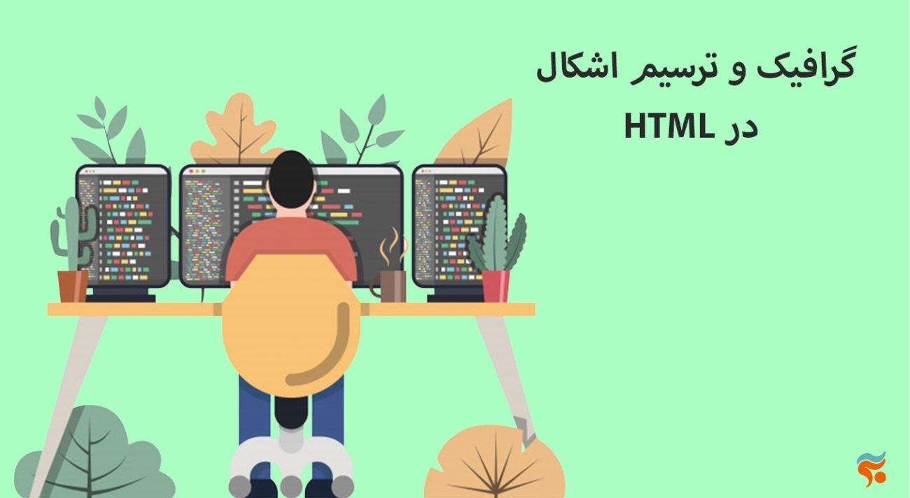 دوره آموزش html ، از مقدماتی تا پیشرفته ، تضمینی ، صفر تا صد و کامل - گرافیک و ترسیم اشکال HTML در
