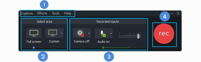 تشریج اجرای پنجره در نرم افزار کمتازیا-کمتاسیاcamtasia recorder -آموزش رایگان کمتازیا