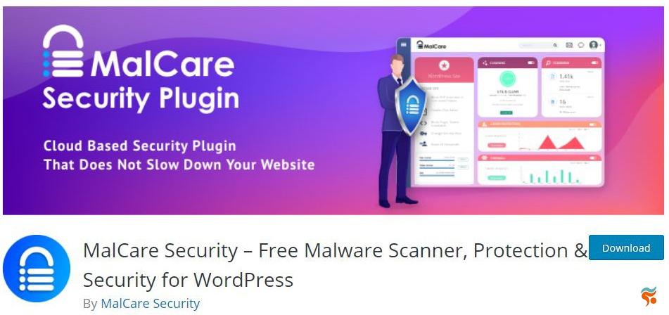 MalCare Security - بهترین پلاگین (افزونه) های امنیتی وردپرس