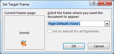 آموزش کامل کار با لینک (link) در word - target frame